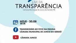 1° LIVE DA TRANSPARÊNCIA