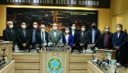 Solenidade de Abertura dos Trabalhos Legislativos - 2° Período 2021.
