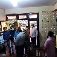 VEREADORES ENTREGAM PLEITOS AO GOVERNADOR DO ESTADO DURANTE EVENTO POLÍTICO-ADMINISTRATIVO.